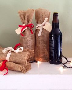 Gift Bags for 22oz Craft Beer Bottles