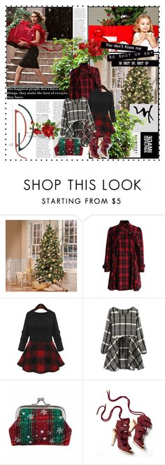 """merry christmas/happy holidays!"" by fashionista-jane ❤ liked on Polyvore featuring Anja, Chicwish, Derek Lam and Emma Watson"