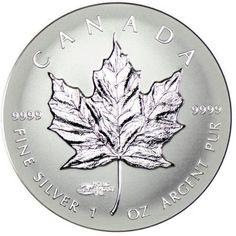 5 Dollar Silber Maple Leaf - World Money Fair Privy Mark PP