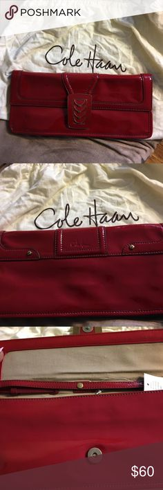 Cole Haan Cole Haan clutch great for nights out. No low ball offers and no trades  Cole Haan Bags Clutches & Wristlets