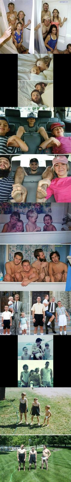 Top 14 Funniest Pictures Of Childhood vs. Adulthood – Gap Ba Gap