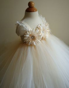 The Princess and the Boutique Flower Girl Dress