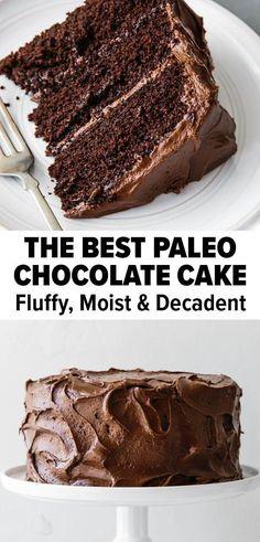 Gluten Free Cakes, Gluten Free Sweets, Sugar Free Desserts, Sugar Free Recipes, Gluten Free Dairy Free Cake Recipe, Easy Paleo Desserts, Gluten Free Dairy Free Desserts, Gluten Free Soups, Paleo Cake Recipes