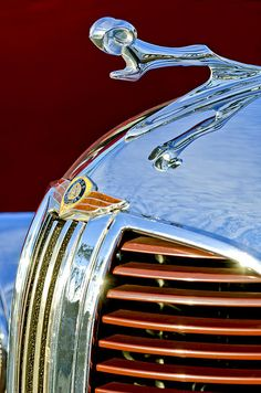 1938 Dodge Ram Hood Ornament by Jill Reger..Re-pin brought to you by agents of #Carinsurance at #Houseofinsurance in Eugene, Oregon