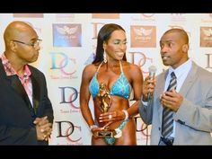 Carolyn A. Brent 1st place NPC 2016 Women's Figure Age 60 Category with Interview - YouTube