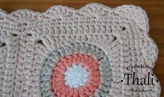 Une bordure facile et rapide à réaliser au crochet pour finaliser gilet, tricot, plaid …