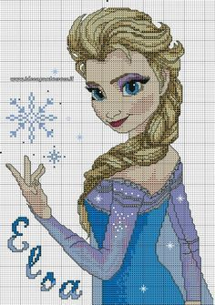 Elsa ( La Reine des Neiges)