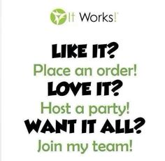 These products are truely amazing check them out and place your order on my website at www.wrappingvargas.myitworks.com