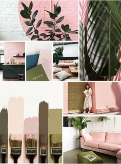Help us choose the colour palette for our renovation! (a pair & a spare) Bedroom Colour Palette, Colour Pallette, Bedroom Colors, Brown Colour Palette, Apartment Color Schemes, Room Color Schemes, Colorful Decor, Colorful Interiors, Pink Room