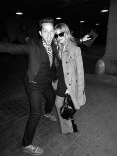 With Derek Blasberg at Grand Central Station in the midst of NYFW SS13 madness!