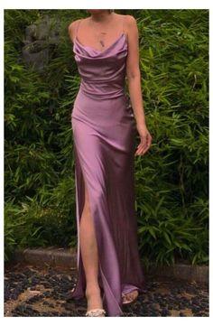 Deb Dresses, Pretty Prom Dresses, Cute Dresses, Beautiful Dresses, Prom Dresses Silk, Satin Dress Prom, Blue Evening Dresses, Flapper Dresses, Dresses Dresses