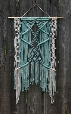 Custom Macrame Wall Hanging | Flickr - Photo Sharing!