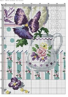 Cross Stitch Heart, Cross Stitch Flowers, Hand Embroidery Designs, Embroidery Patterns, Cross Stitching, Cross Stitch Embroidery, Cross Stitch Designs, Cross Stitch Patterns, Stitches Wow