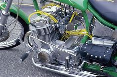 1970 Honda CB750 Chopper Motor... Beautiful!