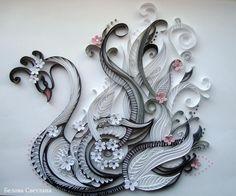 Stunning Quilled Swan by: Svetlana BELOVA