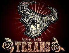 i looooove this! would be a cool tat. Houston Texans Funny, Houston Texans Nails, Houston Texans Party, Texans Memes, Houston Texans Football, Houston Astros, Bulls On Parade, Texans Cheerleaders, Cool Tats
