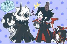 Kcalb x Etihw and Satanick x Ivlis