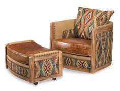 Outback Upholstery chair and ottoman - fabulous!