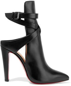Christian Louboutin - Pointipik 100 Leather Pumps - Black
