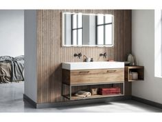 This robust-looking cabinet has everything you need. The wood structure or any of the many other colors, make a perfect design. Bathroom Furniture, Bathroom Interior, Wooden Bathroom, Wood Structure, Cabinet, Modern, Freedom, Coast, Colours