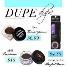 Brow Pomade Dupes