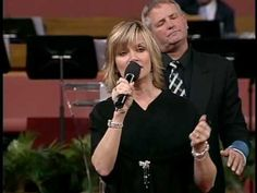 "Jimmy Swaggart Ministries DVD: ""This Is That""- Donna Carline singing a song she wrote entitled ""No Tears""    Please visit www.jsm.org"