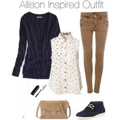 Teen Wolf - Allison Inspired Outfit