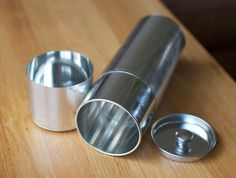 Tall Round Tin Can by SyuRo
