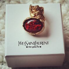 YSL- got a blue one, now want this one.