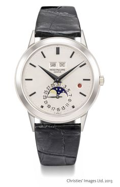 Christie's auctions - A rare Patek Philippe ready to fly Patek Philippe ref.3448 1981y