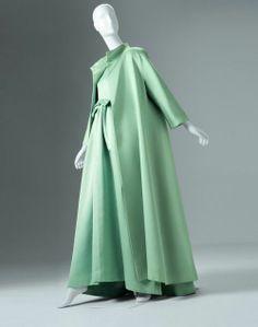 Cristobal Balenciaga Fashion | ... -1963 Cristóbal Balenciaga Abraham silk ... | Vintage Fashion: 19