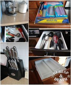 How to Organize Your Kitchen OCD Style.  I knew I was a neat freak but damn...my kitchen is organized just like this one!