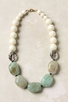 Anthropologie Earl Grey necklace...so sad I didn't snag this before they sold out!