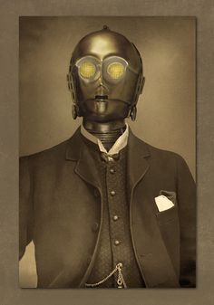 Victorian style portraits of Star Wars characters by Terry Fan