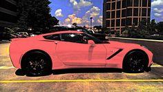 2015 Pink Corvette | Photo by Steve Frenkel