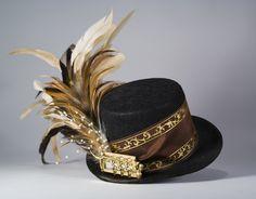Featherd ballerina mini top hat