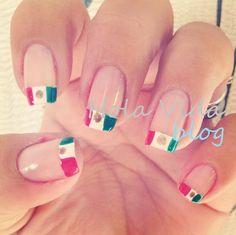 Pinta tus uñas mexicanas !! / mexican nails