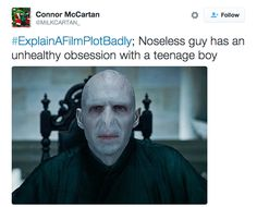 you think about it, this was basically the Harry Potter plot in a nutshell. When you think about it, this was basically the Harry Potter plot in a nutshell. Harry Potter Jokes, Harry Potter Cast, Movie Plots Explained Badly, Funny Tweets, Funny Memes, Movie Memes, It's Funny, Funny Quotes, Explain A Film Plot Badly
