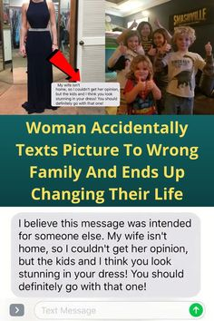 Woman Accidentally Texts Picture To Wrong Family And Ends Up Changing Their Life One wrong text led to raised a ton of money for a young boy battling Leukemia. Cute Relationship Goals, Cute Relationships, Text Pictures, Funny Pictures, Living Room Entertainment Center, Eye Makeup, Makeup Art, Winter Fits, Casual Winter