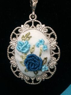 Items similar to Decorative Hand embroidery jewelry on Etsy Rose Embroidery, Embroidery Jewelry, Jewelry Patterns, Crochet Earrings, Trending Outfits, Unique Jewelry, Handmade Gifts, Etsy, Vintage
