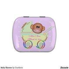 Baby Shower Jelly Belly Candy Tin