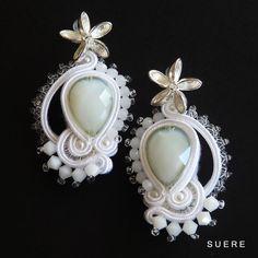 Auskarai nuotakai / Wedding earrings