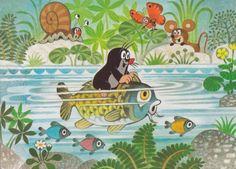 (2014-07) Muldvarpen sejler på fisken