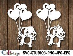 Baby Elephant Images, Cute Elephant, Diy Corset, Diy Tumblers, Scroll Saw, Kirigami, Flower Wallpaper, Print And Cut, Shadow Box