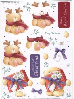 Forever Friends Baby Decoupage Sheet photo: 3d sheet This photo was uploaded by spyrocatgirl