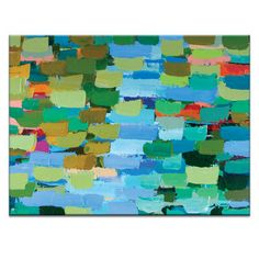 Artist Lane Summer by Anna Blatman Painting Print on Wrapped Canvas