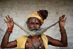 Hindu Sadu at Pashupatinah, Nepal || Photo by Gary S. Chapman