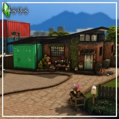 Sullivan Family, Sims Building, Sims 4 Build, Sims 4 Houses, Home And Family, Outdoor Decor, Instagram, Build House