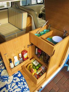 Vanmotion - Gallery - Refurbished Volkswagen Camper Van interior projects