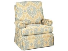 """Shop for Temple Shelby Tilt Back Chair, 507, and other Living Room Chairs at Barrs Furniture in McMinnville, TN. Also Available: 503 Ottoman. W 28"""" D 21"""" H 18""""."""